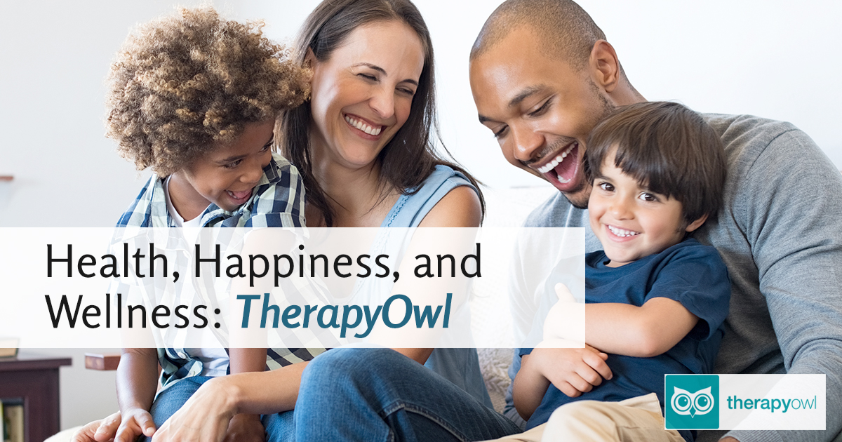 Health, Happiness, and Wellness: TherapyOwl