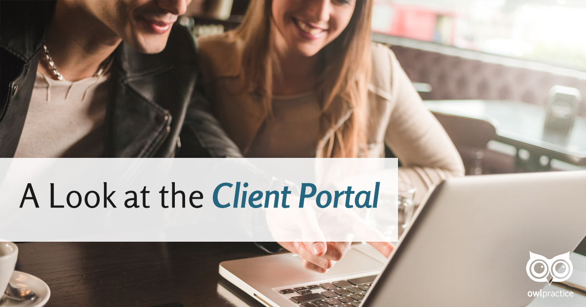 A Look at Our Client Portal
